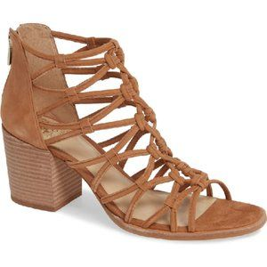 "Vince Camuto BNWT sandals tan ""karika"" leather"